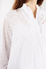 LIBERTINE LIBERTINE WHITE FLORAL LACE NOSE DRESS