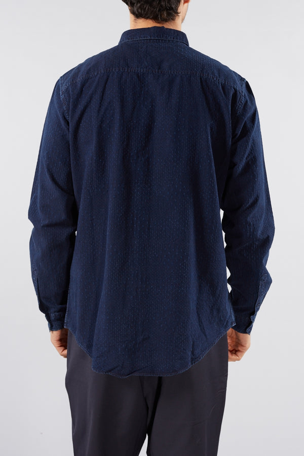 LEVI'S MADE AND CRAFTED MORONGO BLUE STANDARD SHIRT