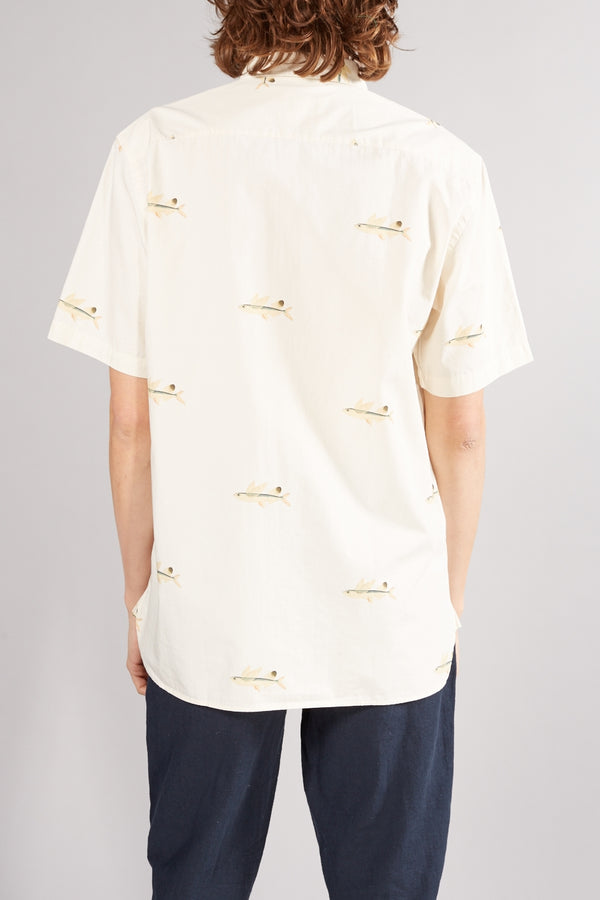 LA PAZ CREAM FLYING FISH ALEGRE SHIRT