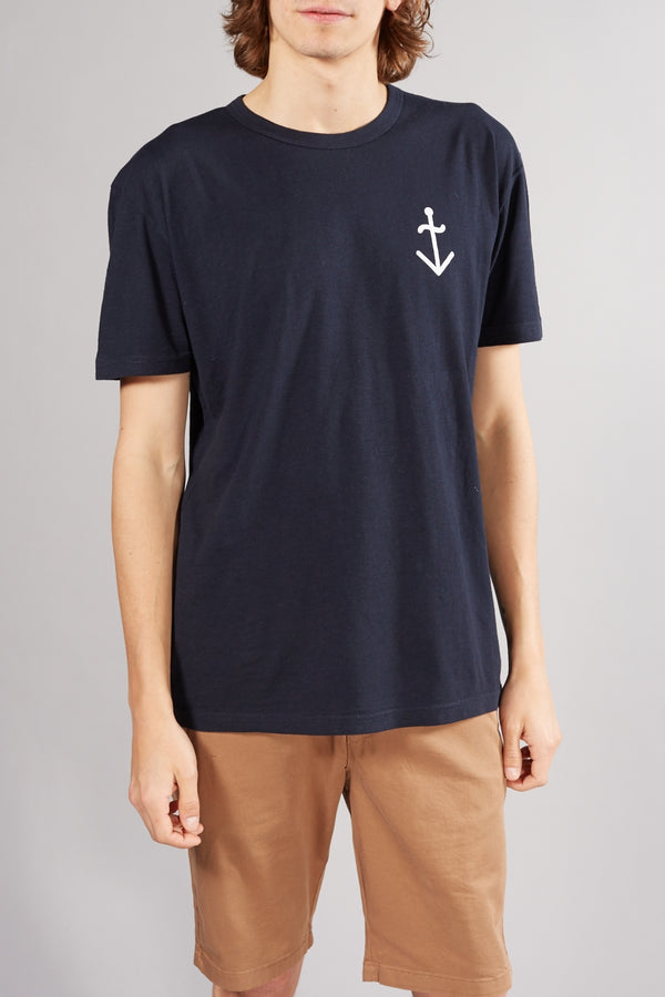 LA PAZ GUERREIRO NAVY MOONRISE T-SHIRT