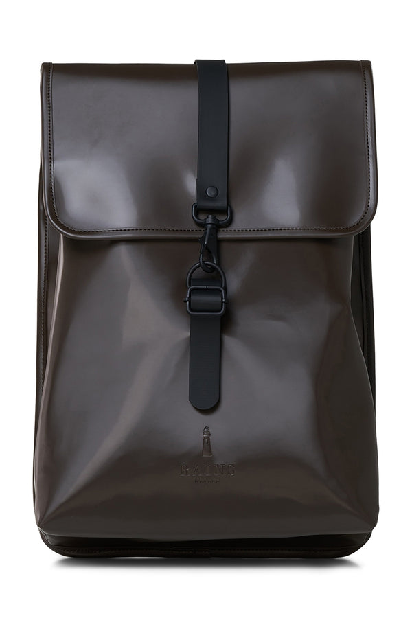 Shiny Brown Rucksack