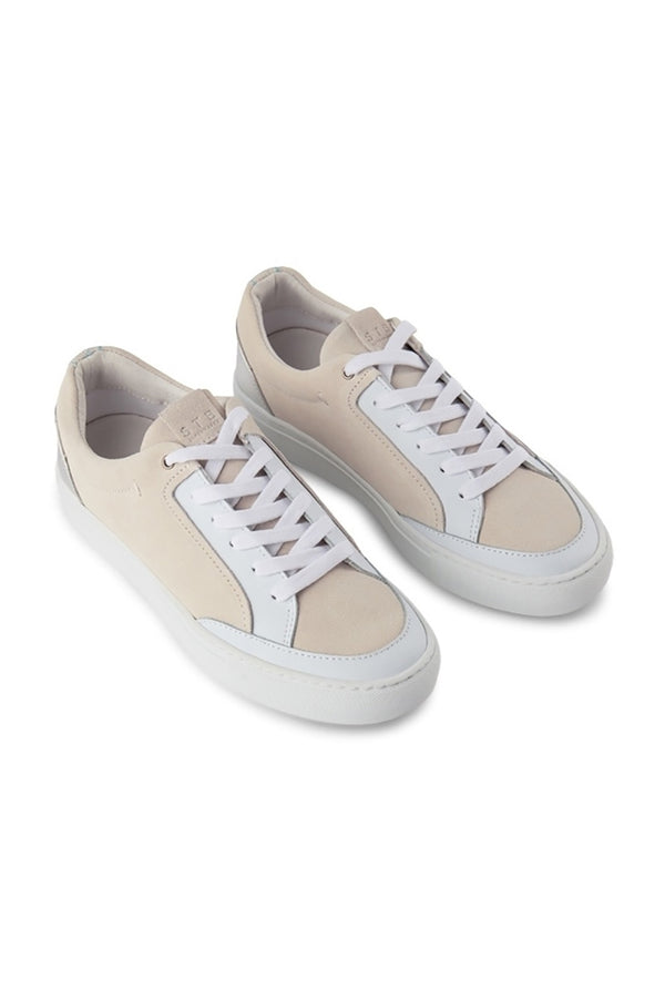 SHOE THE BEAR NUDE SILVER PALO LOW TRAINER