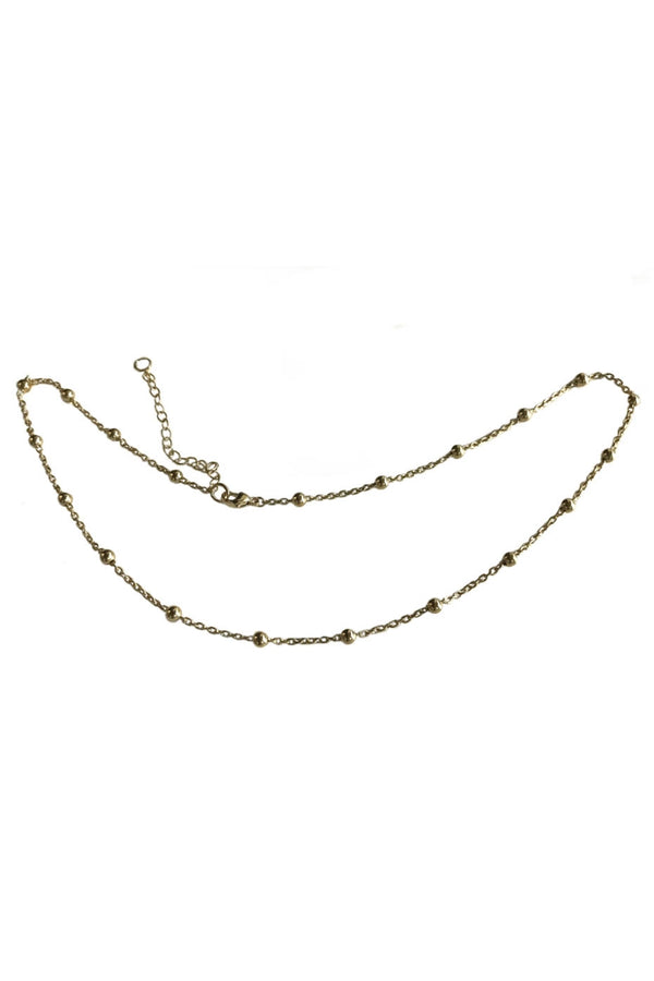 Aliza Fire 18ct Gold Celest Choker