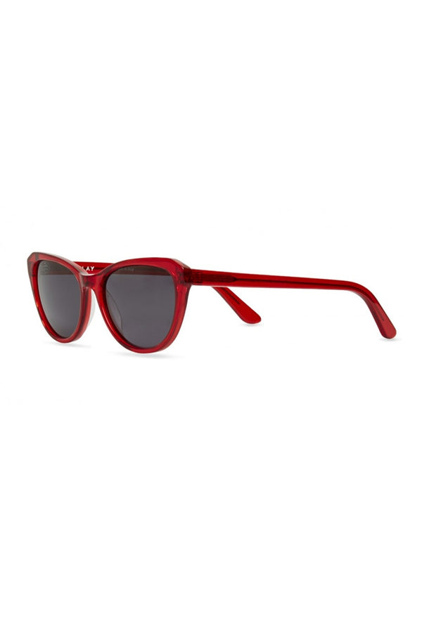 FINLAY RUBY FADE WITH GREY LENS EVELYN SUNGLASSES