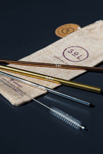 Reusable Straws Pack of 3
