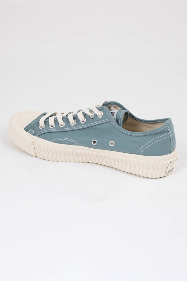 Excelsior Blue Bolt Low Canvas Trainers