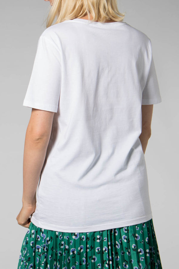 Origin White Mask Tee