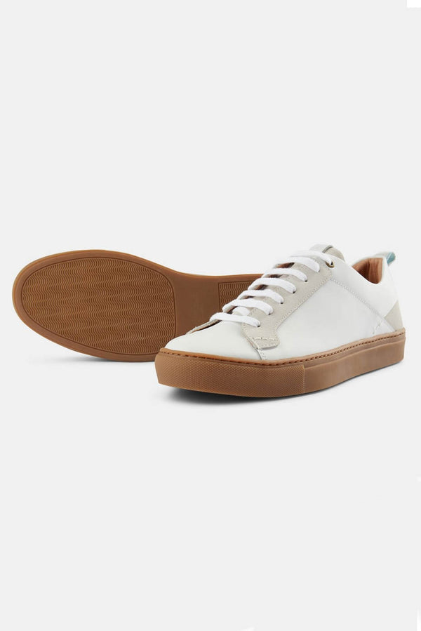 Shoe The Bear White Linden Trainers