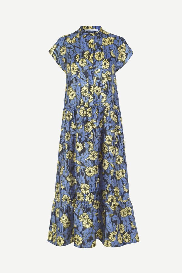 Margo Long Printed Dress