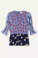 Royal Dot Pin Shirt