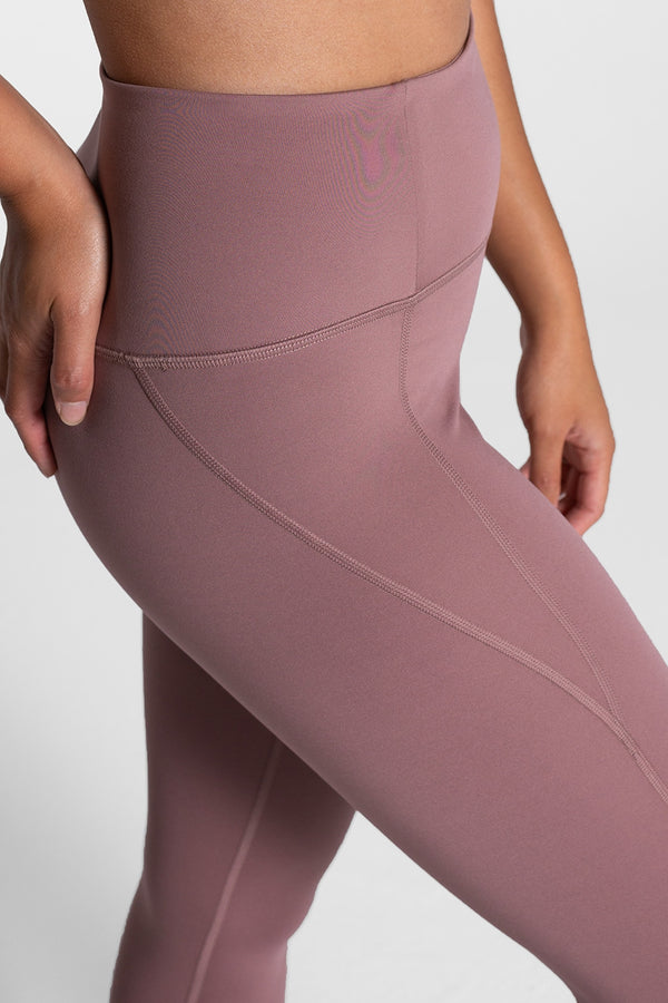 Girlfriend Collective Rose Quartz Compressive High Rise Leggings (7/8 Length)