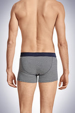 Navy Stripe Karl-Heinz Boxer Shorts