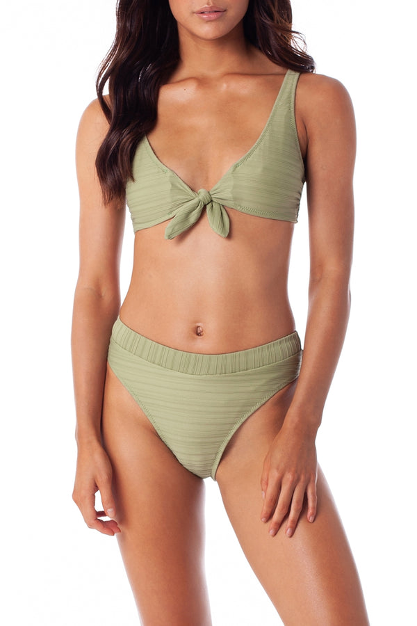Aloe Green Tahiti Tie Top