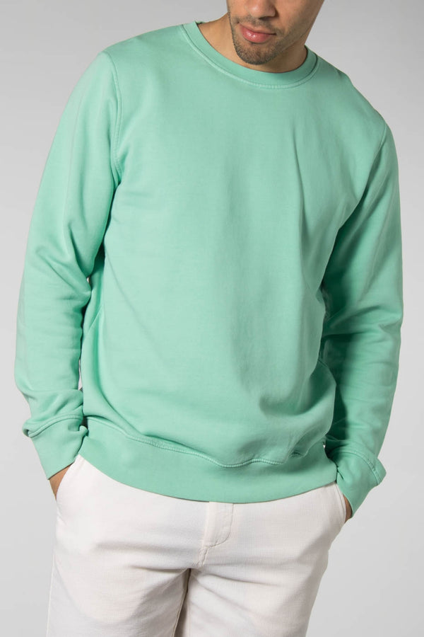 Colorful Standard Faded Mint Classic Organic Crewneck Sweater