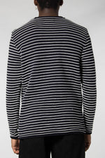 Kronstadt Navy/Off WHite Viking Sweater
