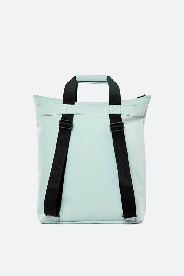 Rains Dusty Mint Tote Backpack