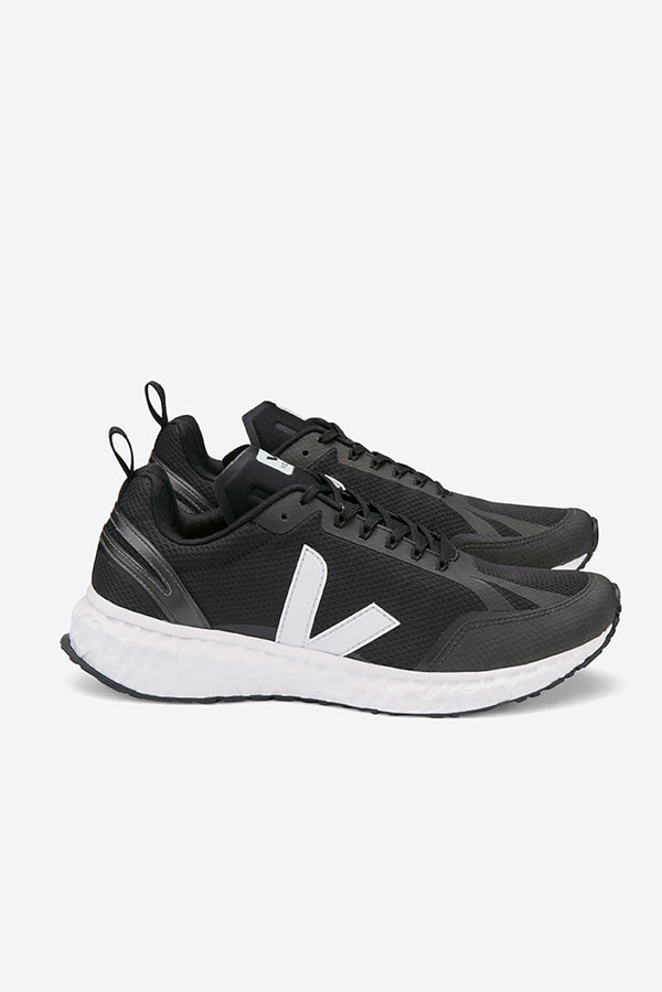 Mayordomo telegrama Matemáticas  VEJA BLACK AND WHITE CONDOR MESH RUNNER TRAINERS MENS – Aida Shoreditch