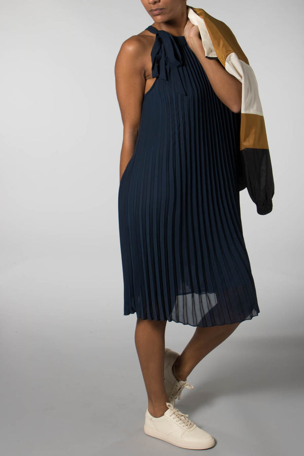 Minimum Navy Sofila Dress
