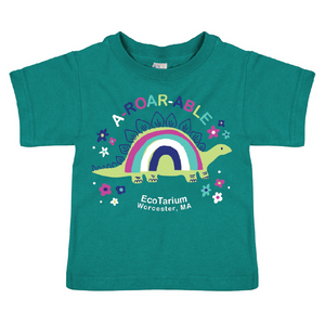 "Toddler ""A-Roar-Able"" Tee - Jade"