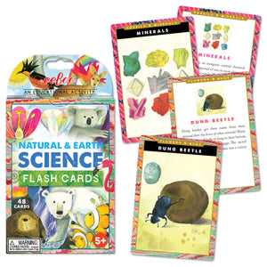 Natural and Earth Science Flash Cards