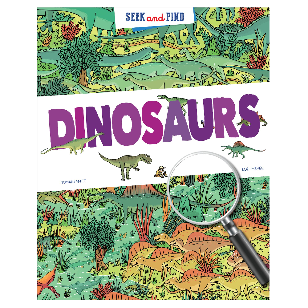 Seek and Find: Dinosaurs