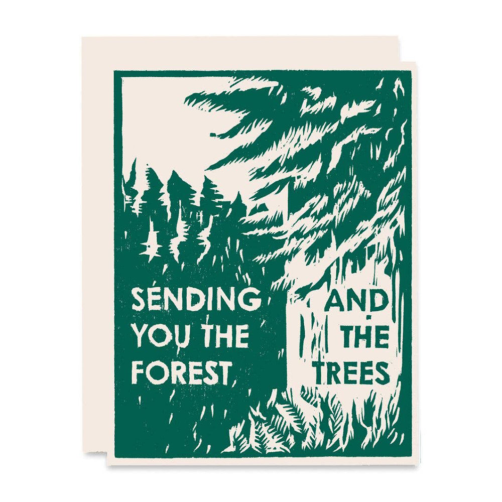 Sending You the Forest and the Trees Card