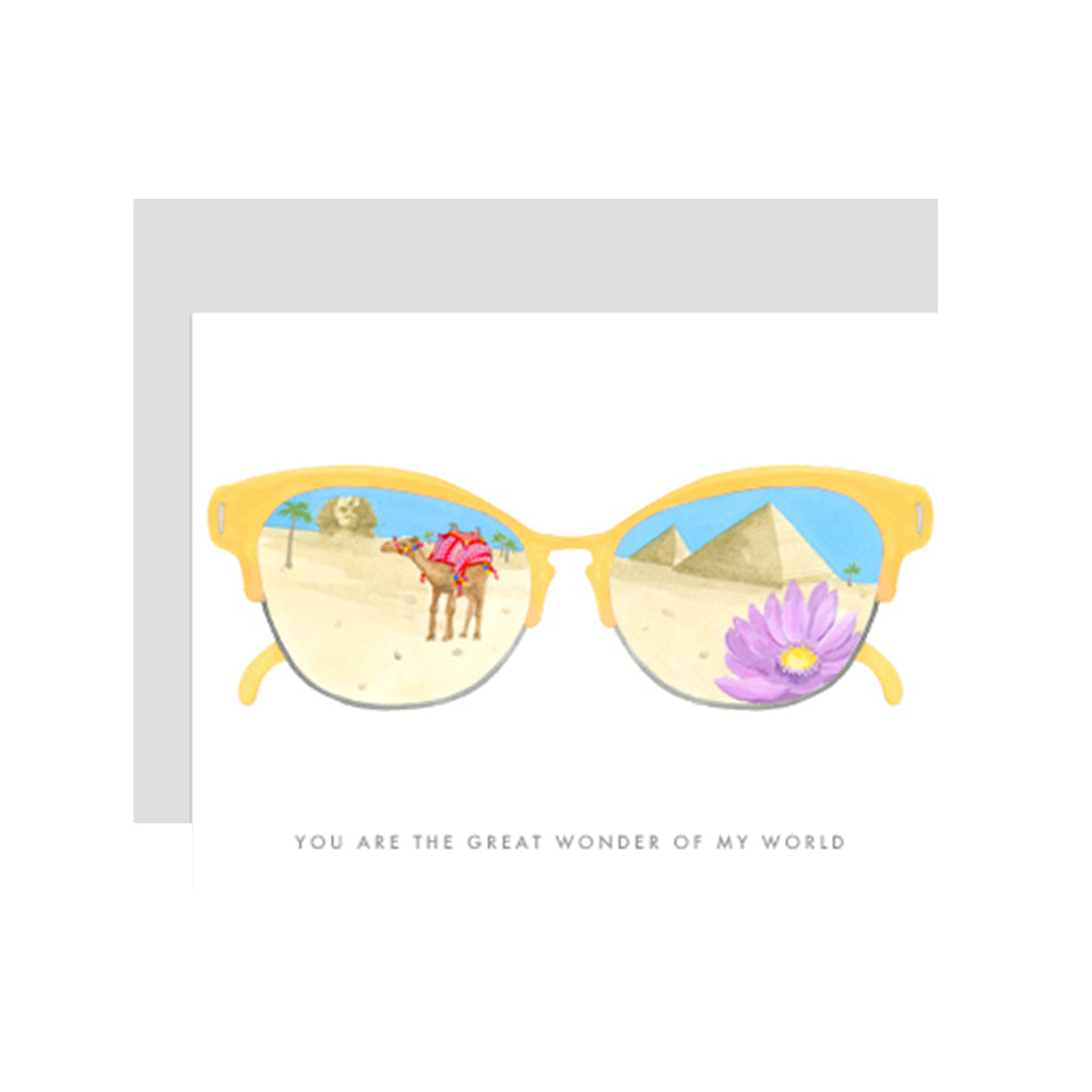 Wonder Glasses Card