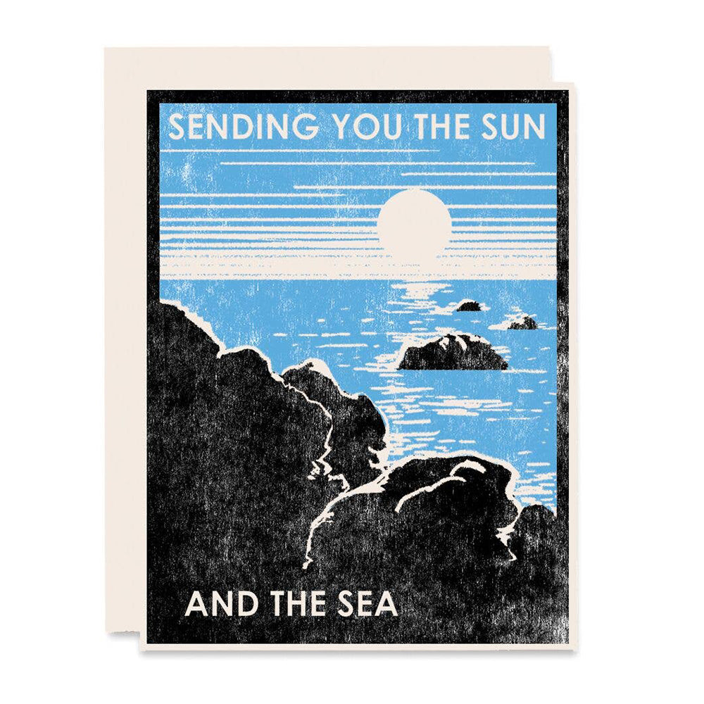 Sending You the Sun and Sea Card
