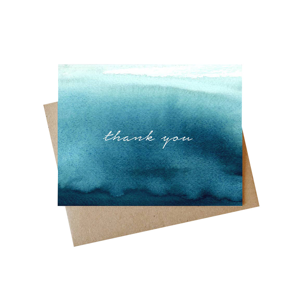 Water Thank You Card