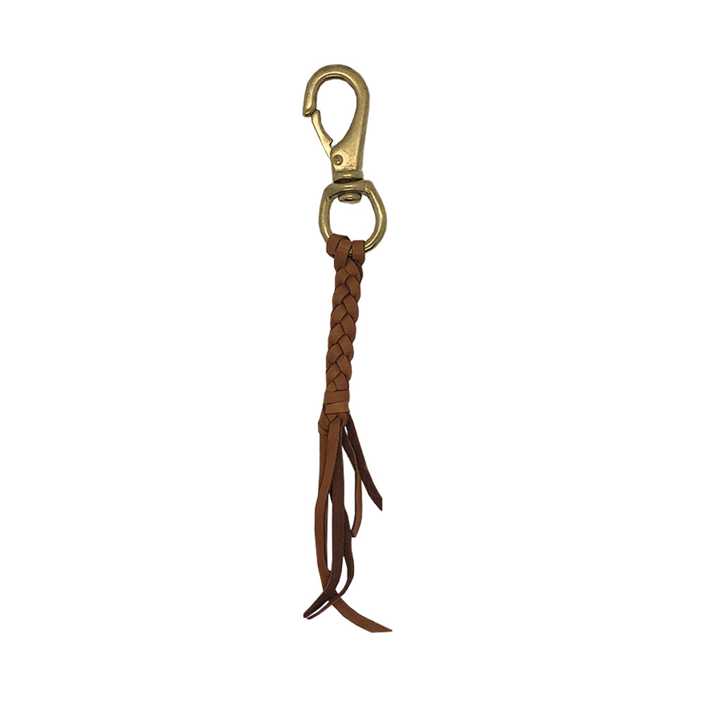 Wyoming Keychain in Saddle
