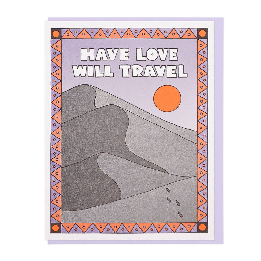 Have Love Will Travel Card