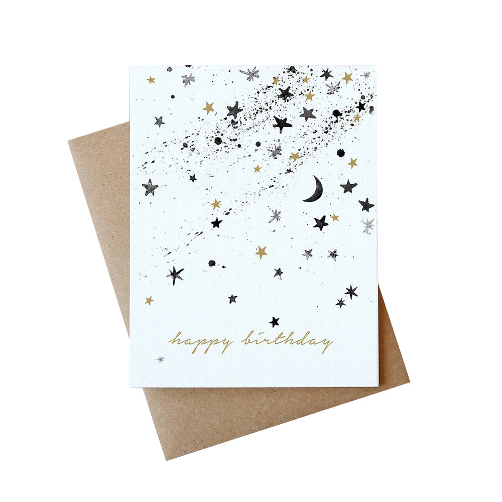 Stars Birthday Card