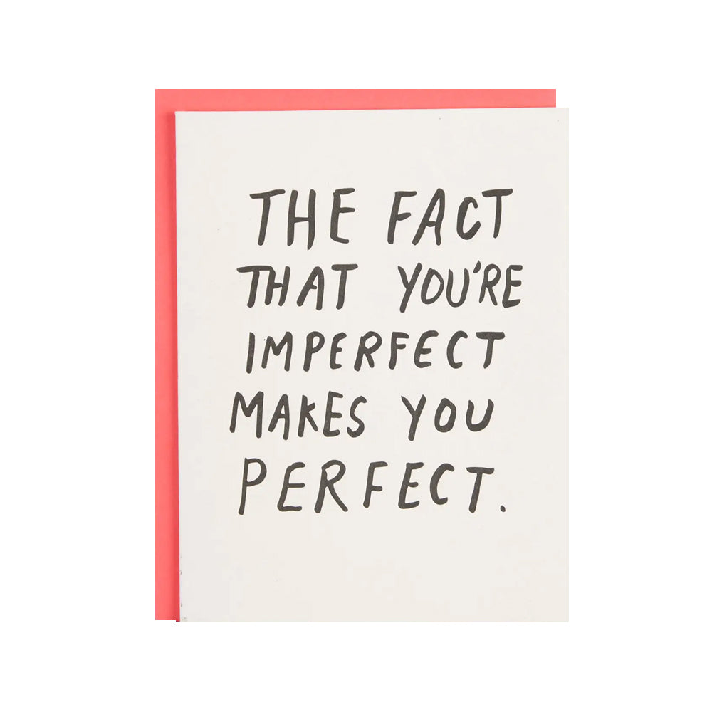 Imperfect Card