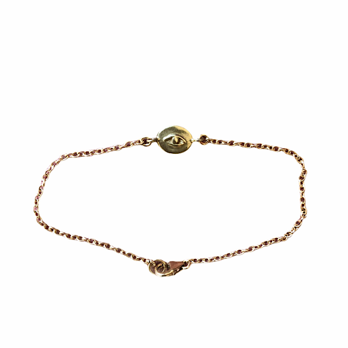Guardian Eye Brass ID Bracelet