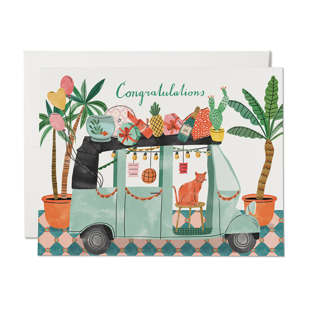 Party Tuktuk Card