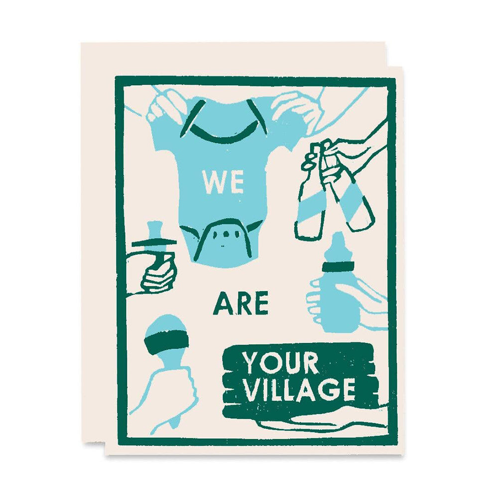 We Are Your Village Card