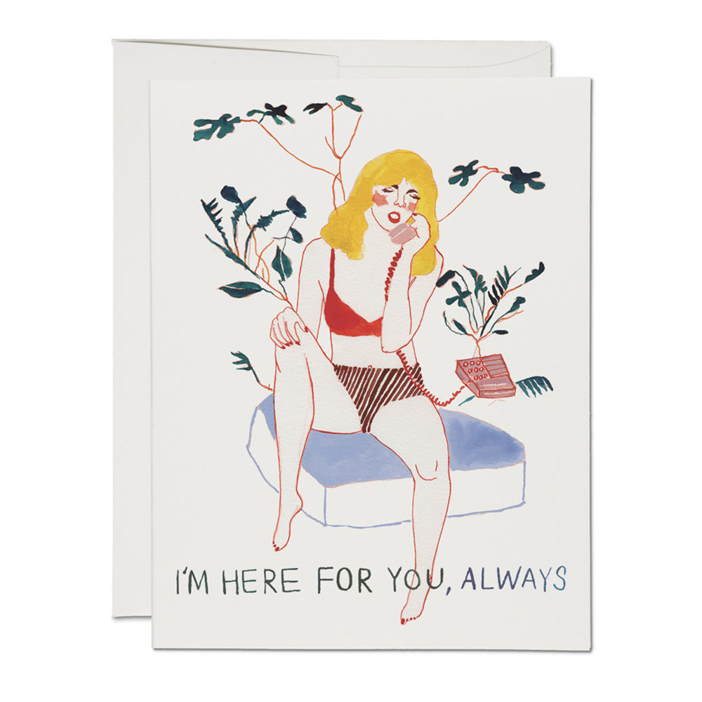 Here for You, Always Card