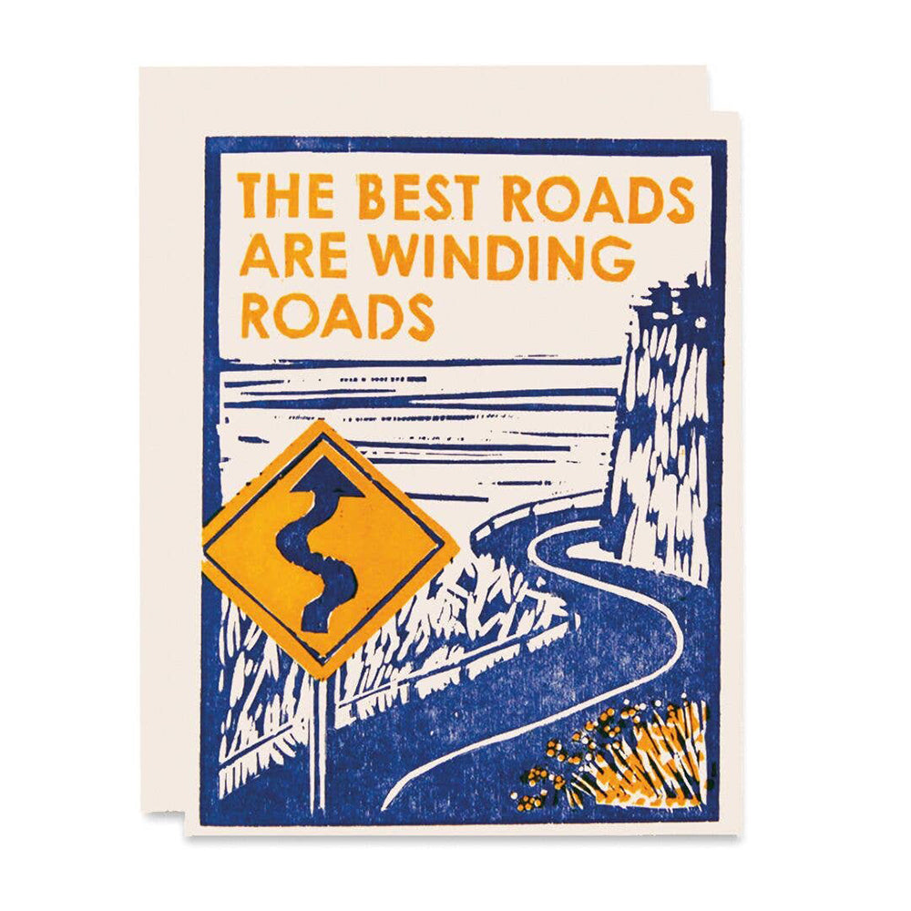 Winding Roads Card