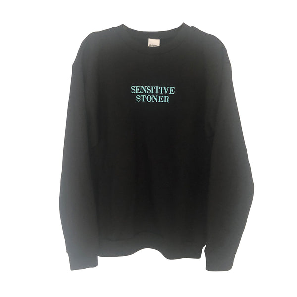 Sensitive Stoner Sweatshirt Baby Blue