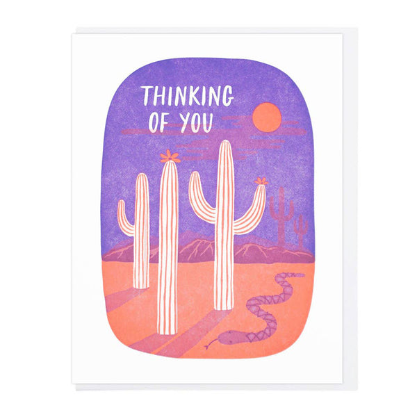 Thinking of You Desert Card
