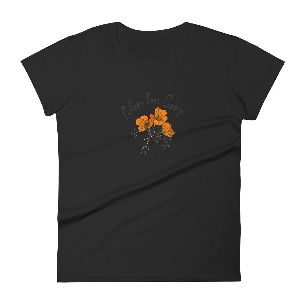 Cali Poppy Women's short sleeve t-shirt