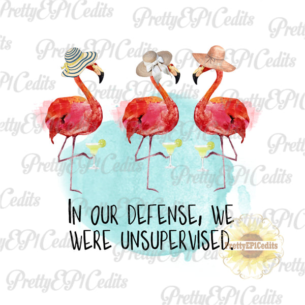 beachy flamingo, digital download,clip art, PNG