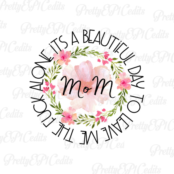 , Mom Flower,  digital download,clip art, PNG