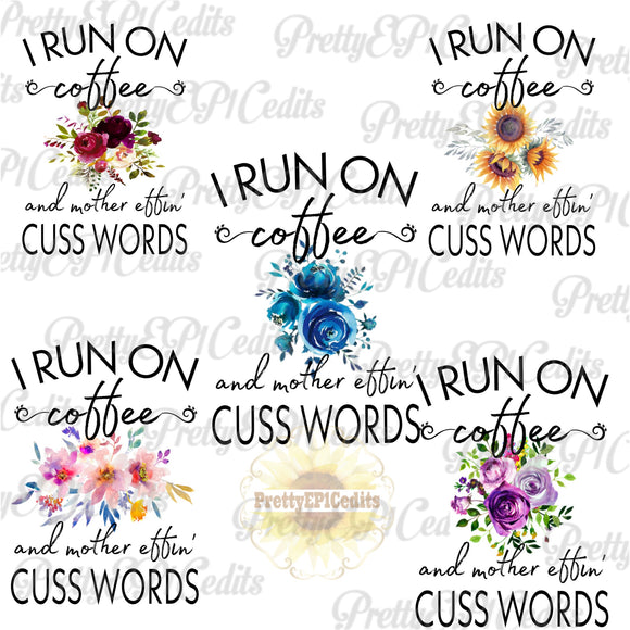 Coffee N Cuss 10 File Bundle Special   (Limited Time)