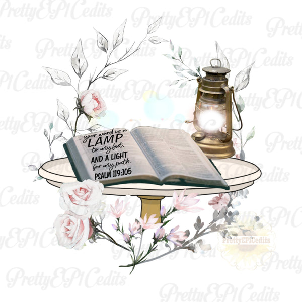 bible, psalm quote, digital download,clip art, PNG