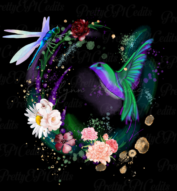 Hummingbird,  digital download, PNG