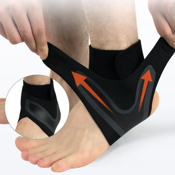 Ankle Support Sports Anti Fatigue Running Cycling Fitness Foot Sleeve Brace Sock Outdoor Men Women Socks Leggings Right/Left