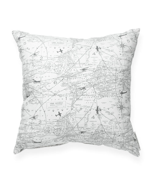 Aviation Pattern Decorative Throw Pillow