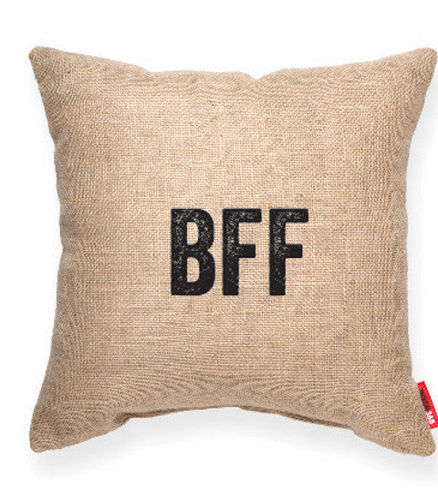 """BFF"" Decorative Throw Pillow"