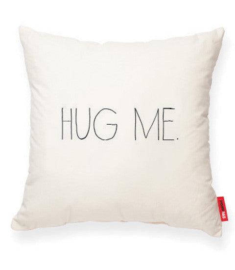 """Hug Me"" Decorative Throw Pillow"